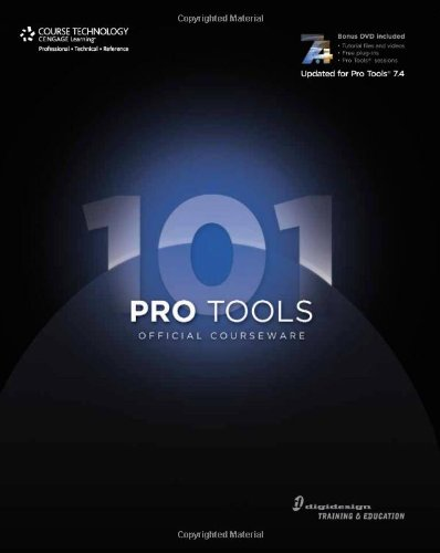 Pro Tools 101 Official Courseware, 2/e-cover