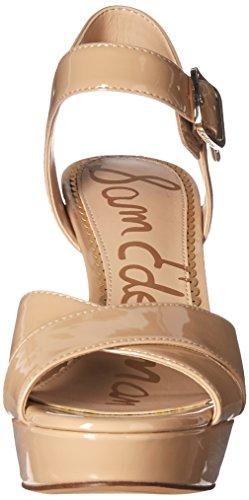 Women's Jordan Patent Sam Nude Heeled Edelman Sandal 80xx4qPn