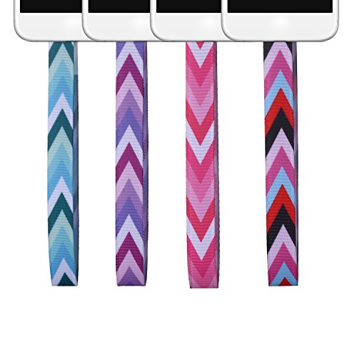 4 Pcs Set Portable Phone Loop Rope- Creative Useful Strap for Phone (Arrow pattern) by beemean