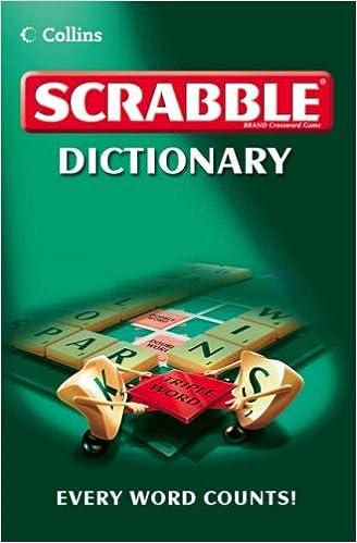 Collins Scrabble Dictionary [Idioma Inglés]: Amazon.es: Collins: Libros en idiomas extranjeros