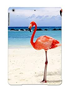 For Ipad Air Fashion Design Flamingos On Beach Case-836a76f2918 / Cover Specially Made For Thanksgiving Day's Gift