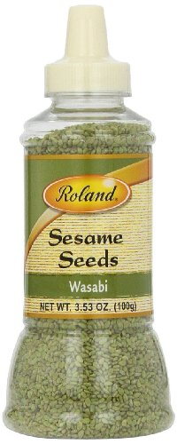 Roland Sesame Seeds, Wasabi, 3.53 Ounce (Pack of 6) by Roland