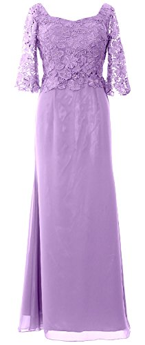 Evening Gown Formal Women Sleeve Half Lavendel the Dress Mother of MACloth Maxi Bride 1IAtX1
