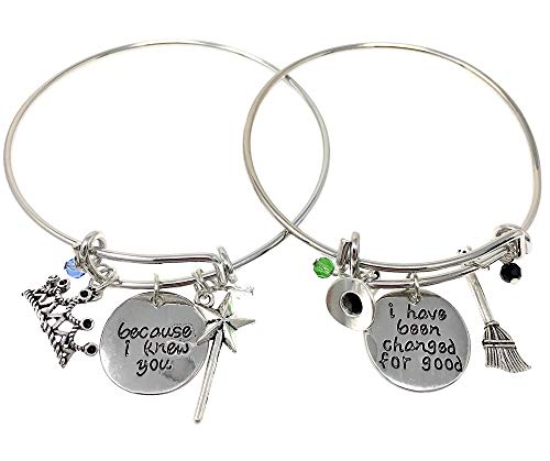 Theatre Nerds Wicked Charm Friendship Bracelet Set - for Broadway Musical Fans