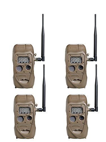 Cuddeback Digital Camera - Cuddeback Cuddelink Long Range IR 4 Pack Bundle