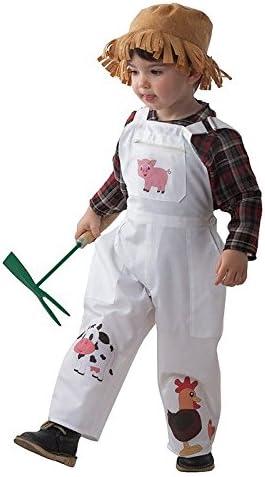 DISBACANAL Disfraz Granjero niño - Único, 4 años: Amazon.es ...
