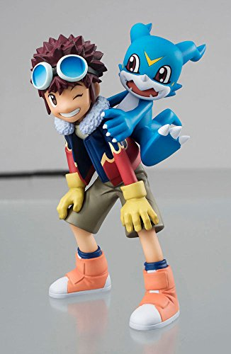 - Megahouse Digimon Adventures 02 Motomiya & V-Mon GEM PVC Figure