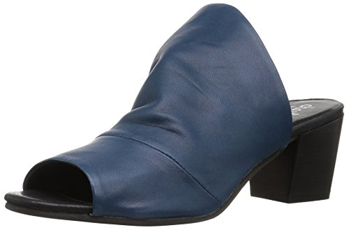 Ink Charles Women's Yanna Blue Slide Charles by David Sandal Caxqnwv1Az