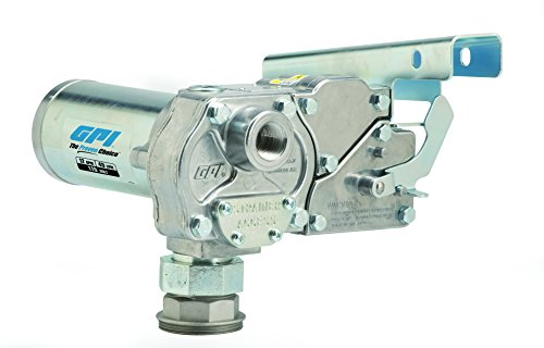 GPI 110000-87, M-1115S-MU Fuel Transfer Pump, 12 GPM, 115-VAC, Lockable Nozzle Holder, Easy Install Spin Collar, Accessories Sold Separately by GPI® The Proven Choice®