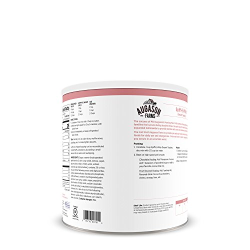Augason Farms Spiff E Whip Dessert Topping 1 lb 4 oz No. 2.5 Can