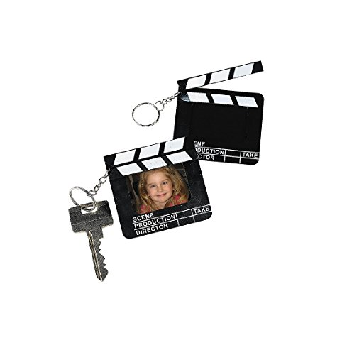 Directors Clapboard Keychain Party Favors