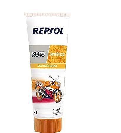 Repsol RP150W53 Moto Sintético 2T Aceite de Motor, 125 ml