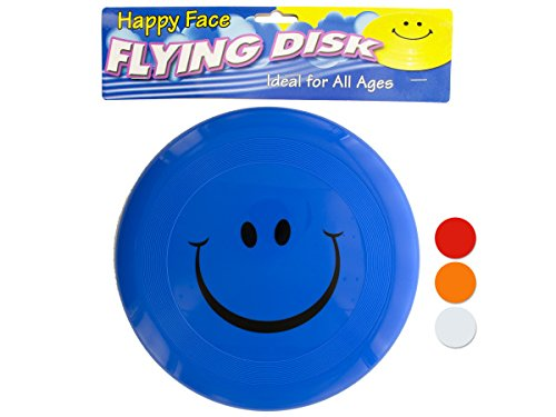 sk10596 smiley face flying disk