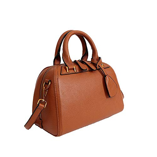 Klerokoh Sac Brown Femme color Dark Bandoulière Blue Main Pour Sacs À 77aqwRxr