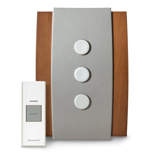 Honeywell RCWL3504A1008/N Decor Wireless Doorbell / Door Chime and Push Button