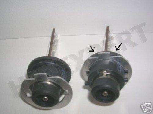 SET OF TWO H7 Adapters for H7 to D2S//D2R for PHILIPS//OSRAM bulbs