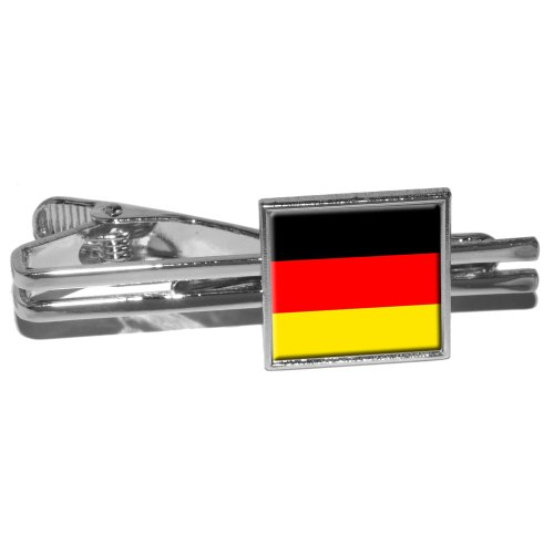 German Germany Flag Square Clasp
