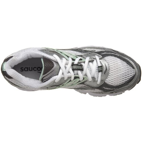 Saucony Donna GRID IGNITION 2Scarpe da corsa White/Grey/Green