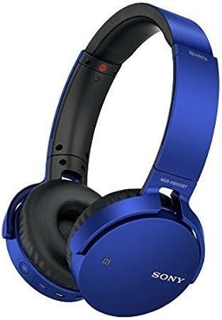 Amazon Com Sony Mdrxb650bt L Extra Bass Bluetooth Headphones Blue Home Audio Theater