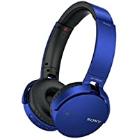 Sony Extra Bass MDR-XB650BT Wireless Headphones with mic (Blue)