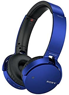 Sony Extra Bass MDR XB650BT Wireless Headphones with mic  Blue