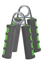 Schildkröt Fitness Set de 2 Entrenadores de Mano e Antebrazo, Verde/gris, 960022