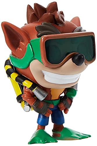 Pop! Crash Bandicoot - Figura de Vinilo Crash Bandicoot with Scuba Gear