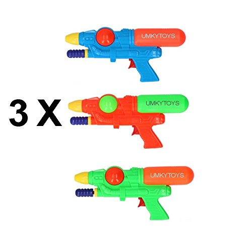 3 Powerful Pump Action Water Guns Pistol