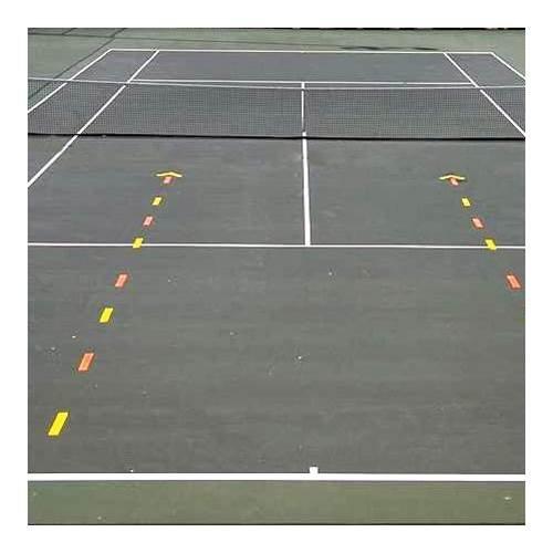 Oncourt Offcourt Tennis Court Shapes Set