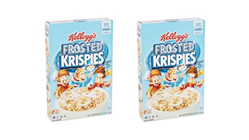 Kellogg's Frosted Krispies Cereal (2 Box of 12.5 oz. )