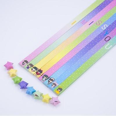 Lavenz 370 tiras 12 colores origami papel de la suerte ...