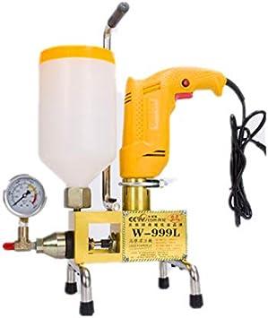 BAOSHISHAN W-999L Hochdruck-Fu/ßbodenfugenmaschine 910 W f/ür Betonrisse Leckage Reparatur in Wasser Pool Haus Dachverfugung Injektionspumpe Maschine
