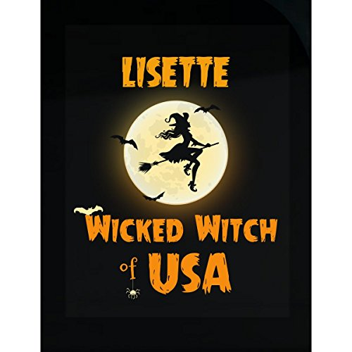 Lisette Wicked Witch Of Usa Halloween Gift - (Lisette Accent)