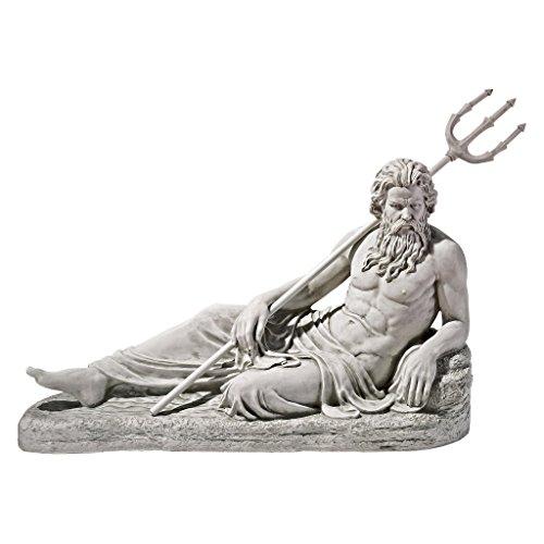 Design Toscano Neptune of St. John's Lock, River Thames - St Thames
