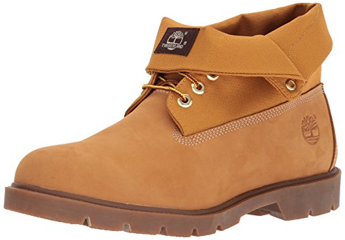 Boot Timberland Single Cordura Basic Roll Top Men's Wheat Ankle Nubuck Ywvr4Y