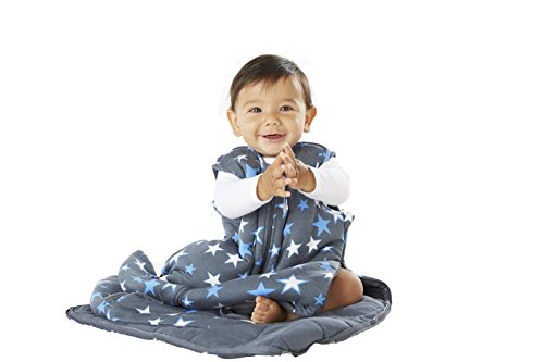 Gunapod - Luxury 95% BambooRayon Unisex Wearable Blanket Baby Sleeping Bag with WONDERZiP by Gunapod