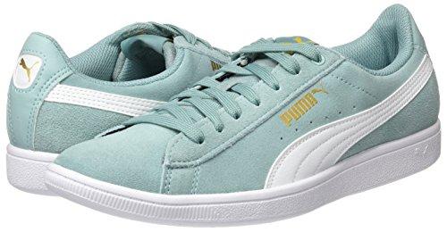 Sneaker puma Verde Vikky aquifer Donna Basse White Puma 5xaUYn