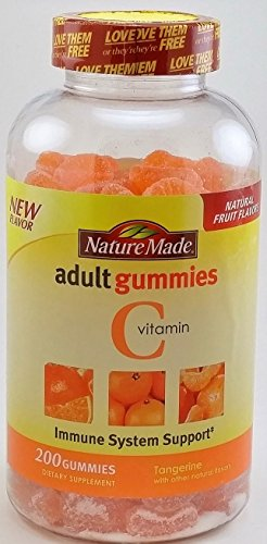 Nature Made Adult Gummies 200 CT Vitamin C Dietary Supplement, -
