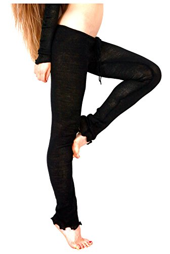 Sexy Low Rise Drawstring Loose Knit Tights KD dance NYC Soft, Warm Made USA