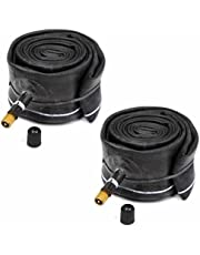 """JahyShow Discount Tubes,2 Pcs 20""""x1.75 /1.95/2.125 Schrader Valve BMX Bicycle Inner Tubes Bike Tube with Quality Price! By Street Black"""