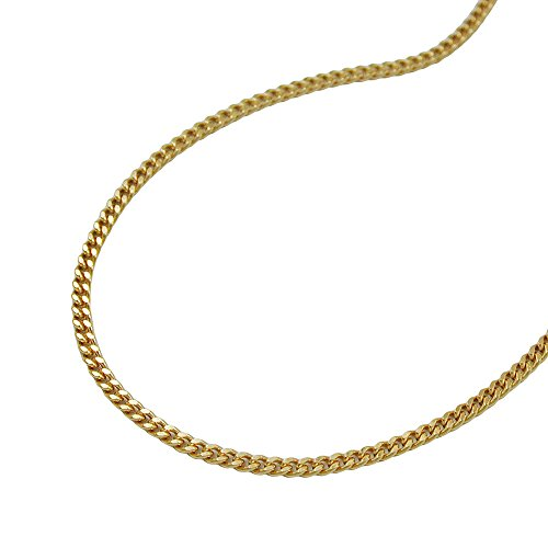 Necklaces, PanzerNecklaces 38cm, 9Kt GOLD