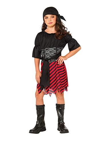 Rubie's Costume Kids Pirate Girl Value Costume, Large