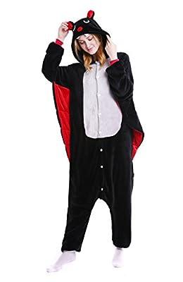 Halloween Bat Onesie Adult Animals Pajamas Onesie Cosplay Costume Cute Sleepwear