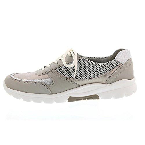 Waldläufer Haruka - Zapatos de cordones de Piel para mujer marrón marrón Multicolor
