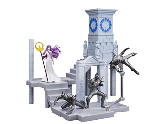Tamashii Nations D.D.Panoramation Fire Clock of The Sanctuary -Goddess Athena and Soldiers- Saint Seiya Action Figure Set (Athena Fire)