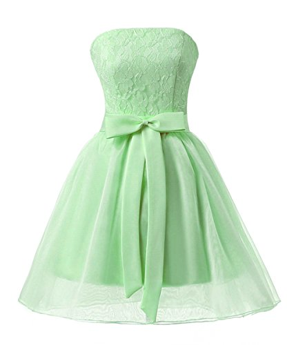 Vantexi Mädchen Kurze Party Abschlussball Kleid Festkleider ...