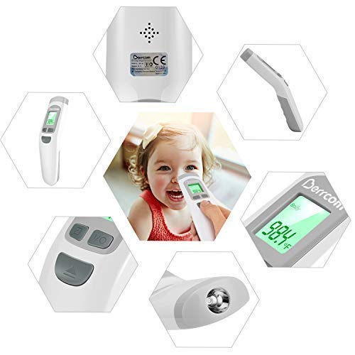Baby Infrared Forehead Thermometer Infants,Toddlers FDA Approved Medical Grade Non Contact Thermometer for Kids Fever Thermometer Flu Nurses Cold Adults Child