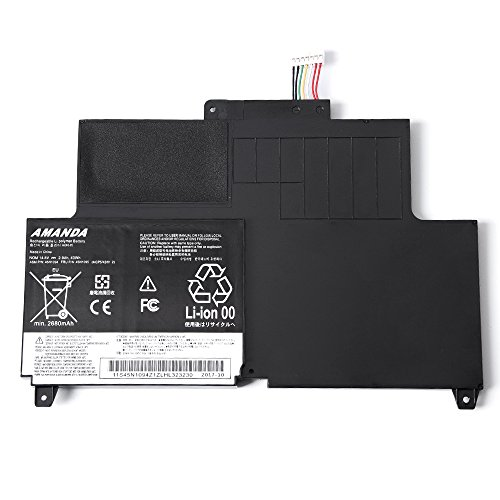 (Amanda S230U Battery Replacement for Lenovo Thinkpad Edge S230u Twist Series 45N1092 45N1093 45N1094 45N1095 45N1169 45N1168 4ICP5/42/61-2 14.8V/43WH/2.9Ah 4Cell)
