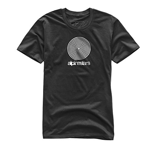 Alpinestars Mens Modern Fit Short Sleeves Mid Weight Premium T-Shirt
