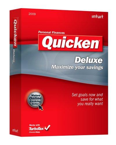 Intuit Quicken Deluxe 2009 VERSION